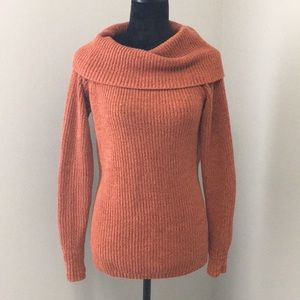 Christopher & Banks Cowl Neck Sweater